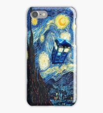 Phone box and the moon iPhone Case/Skin