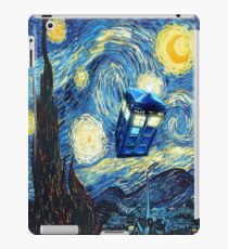 Phone box and the moon iPad Case/Skin