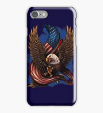 American Eagle and Flag iPhone Case/Skin