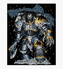 Space Wolves Photographic Print