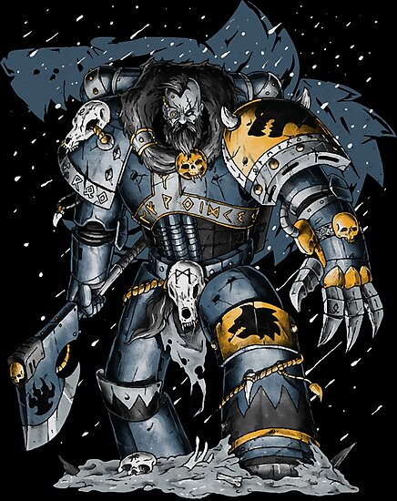 Space Wolves by chesterosul
