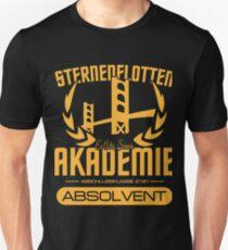Absolvent der Sternenflotten Akademie Unisex T-Shirt