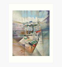 Brixham Slipway, South Devon Art Print