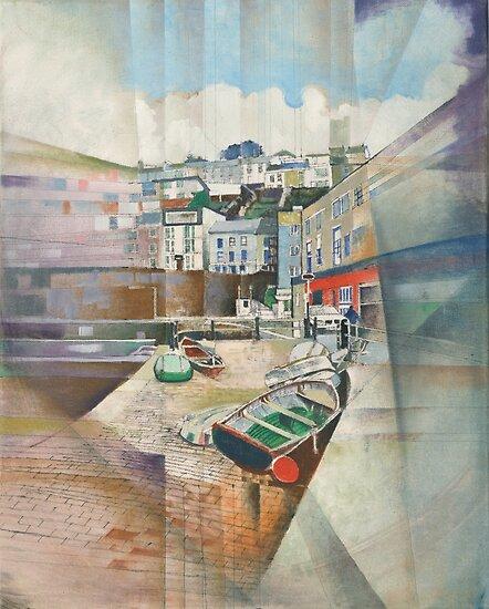 Brixham Slipway, South Devon by Bernard Barnes