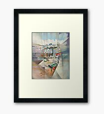 Brixham Slipway, South Devon Framed Print