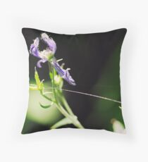 Tied to You by a Shiny Thread Throw Pillow