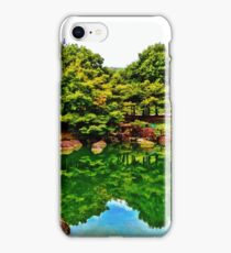 Nara Pond HDR iPhone Case/Skin