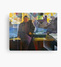 Dartmouth Castle Ferryman Canvas Print