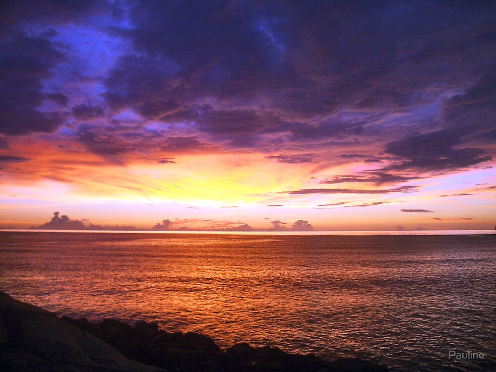 Brunei sunset by Pauline