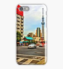 Asakusa Intersection HDR iPhone Case/Skin