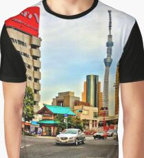 Asakusa Intersection HDR Graphic T-Shirt