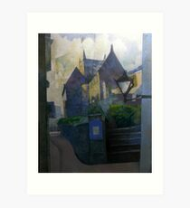 St Saviour Church, Dartmouth, South Devon Art Print