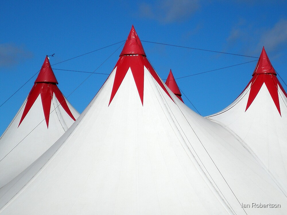 red tent by Ian Robertson