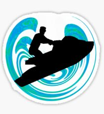 Jet Sea Sticker