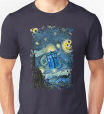 Flying British Phone Box T-Shirt