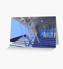 Exhibition Centre Greeting Card