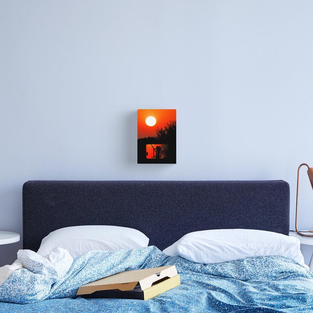 Three Point Sunset Canvas Print