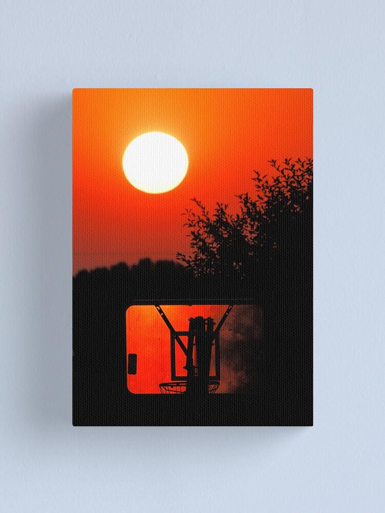 Alternate view of Three Point Sunset Canvas Print