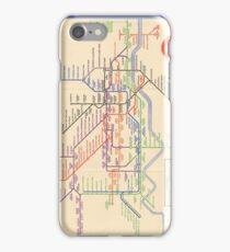 Vintage London Underground Map - Pre-WW2 iPhone Case/Skin