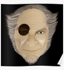 Count Olaf with Eye  Poster