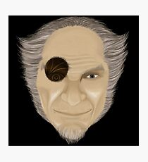 Count Olaf with Eye  Photographic Print