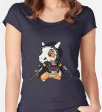 Reaper x Cubone  Women's Fitted Scoop T-Shirt