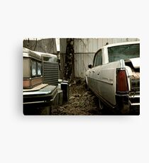 1980's Album Cover - Cadillac & Buick Canvas Print