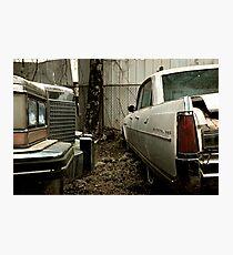 1980's Album Cover - Cadillac & Buick Photographic Print