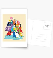 Vögel Postkarten