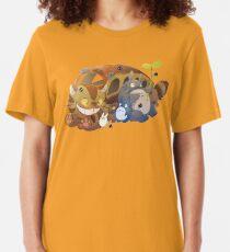 Totoro Slim Fit T-Shirt