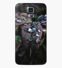Rainy leaves Case/Skin for Samsung Galaxy
