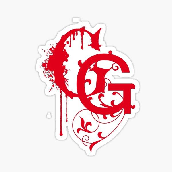 GG logo Sticker