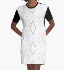 Diamond T-Shirt Kleid