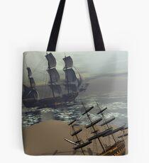 Ships Tote Bag