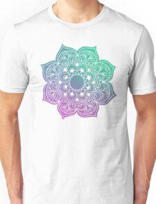 Mandala green purple Unisex T-Shirt