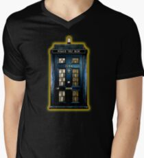 Detective Phone box with 221b number T-Shirt