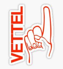 Sebastian Vettel 5 finger Sticker