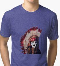 Warrior Chief Tri-blend T-Shirt