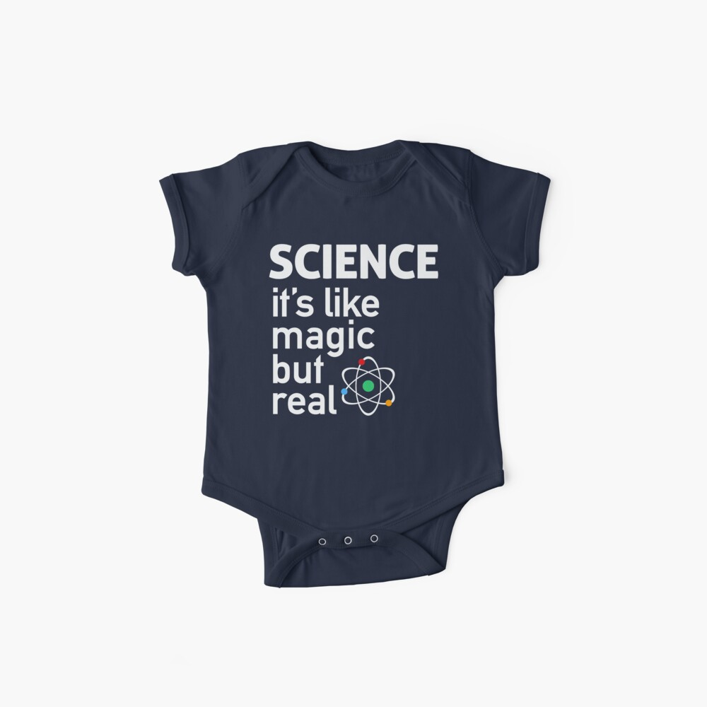 SCIENCE: It's Like Magic, But Real Baby One-Piece
