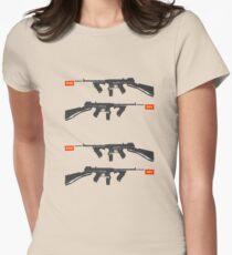 pop art Women's Fitted T-Shirt