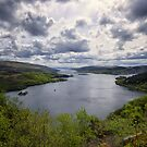 The Kyles of Bute Argyll Scotland by Lynn Bolt