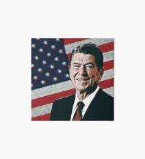 Patriotic President Reagan Art Board