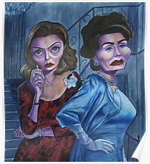 Feud: Bette and Joan caricatures Poster