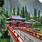 Byodo-In Temple by kaneko