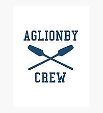 AGLIONBY ROWING TEAM Photographic Print