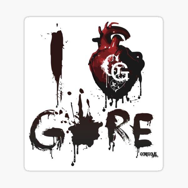 I <3 GORE Sticker