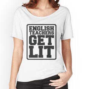 Camiseta ancha para mujer