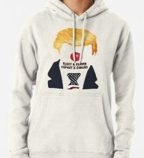 Elect A Clown Expect A Circus Pullover Hoodie