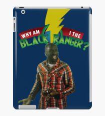 Black Ranger? iPad Case/Skin