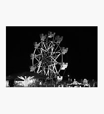 County Fair fun Photographic Print
